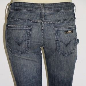 New Women's ROBIN'S JEAN sz 26 Straight Leg Jeans
